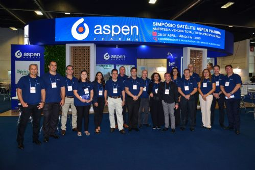 Aspen Pharma no Congresso Brasileiro de Anestesiologia 2018 - COPA