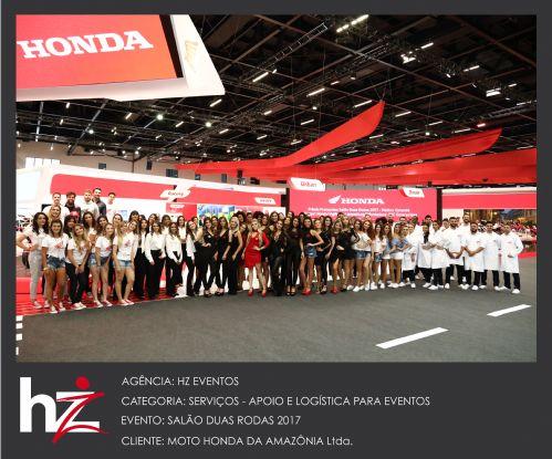 Salão Dua Rodas 2017 - Case Honda