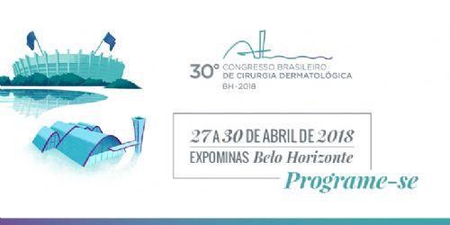 30º CONGRESSO BRASILEIRO DE CIRURGIA DERMATOLOGICA