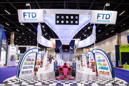 Estande FTD Educação Bett Educar - Aceleradores de Resultado