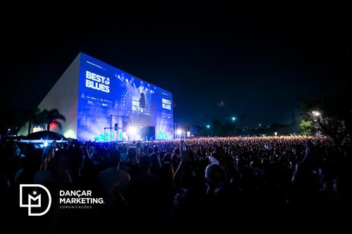 Público no Samsung Best of Blues, Auditório Ibirapuera, São Paulo, 2019