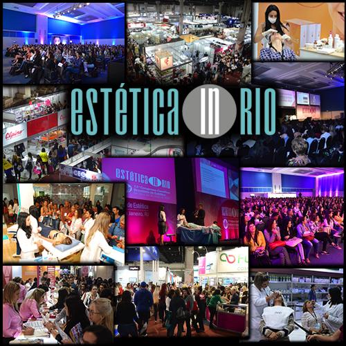 Estética In Rio 2019 -  25 a 27 de maio de 2019   Rio de Janeiro