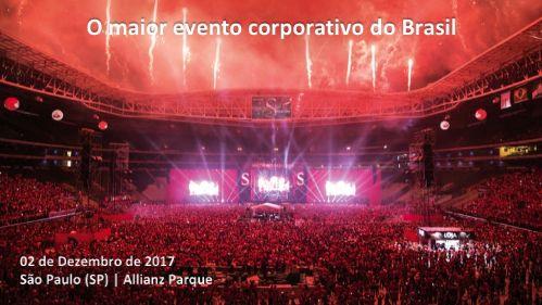 O MAIOR EVENTO CORPORATIVO DO BRASIL