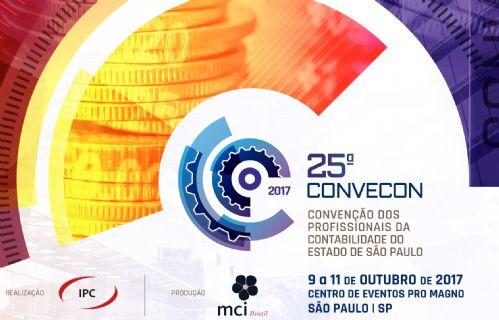 CONVECON - 25º Convenção dos Profissionais de Contabilidade do Estado de São Paulo