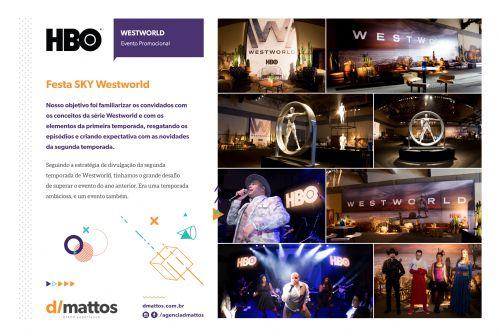 Festa Westworld - Evento Promocional