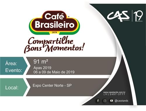 CAFÉ BRASILEIRO - APAS 2019
