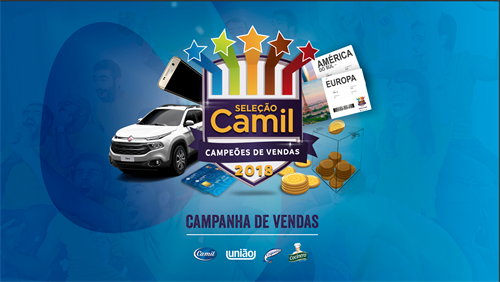 KV campanha Campeões de Vendas Camil
