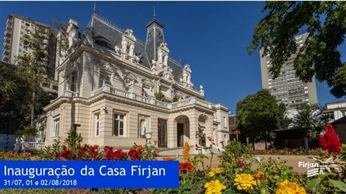 Inauguração Casa Firjan