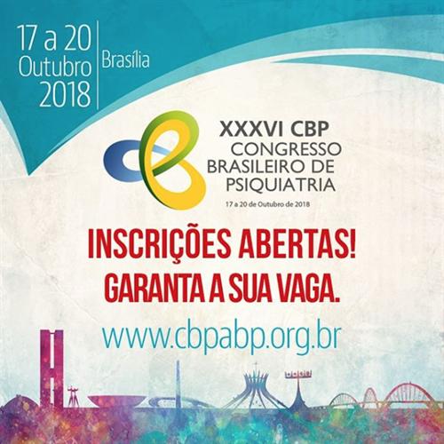 36th Brazilian Congress of Psychiatry